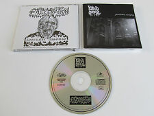 EXULCERATION/PUTRID OFFAL Infernal Disgust/Premature Necropsy 1991 1st CD PRESS!