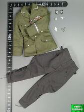 1:6 Scale 3R WWII German Leader GM633 - Green M38 Tunic & Grey Pants