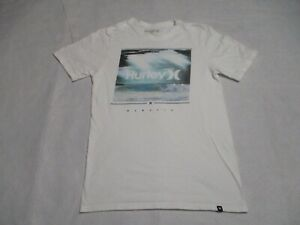 Hurley Small Gray Graphic T Shirt Mens Adult Short Sleeve