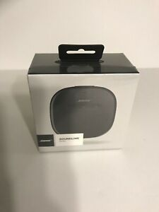 NIB 2017' BOSE Corporation SoundLink Micro Black Bluetooth Waterproof Speaker