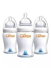 Munchkin Latch Bpa-Free Baby Bottles, 8 Ounce, 3 Pack Used