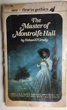 THE MASTER OF MONTROLFE HALL by Rohan O'Grady (c) 1962 Ace gothic pb