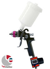 1.4 mm HVLP Spray Gun with Digital Air Flow Regulator LEMATEC Brand Power Tools