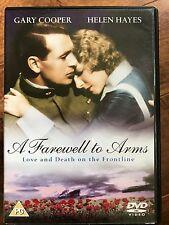 Gary Cooper A FAREWELL TO ARMS ~ 1932 Hemingway Drama Classic |  UK DVD