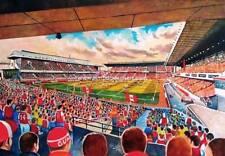 Highbury Stadium Fine Art A4 Print -  Arsenal Football Club