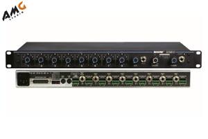 Shure SCM810 8-Channel Condenser Automatic Microphone Mixer SCM-810 SCM810E