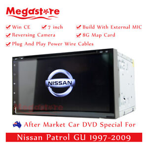 "7"" Car DVD GPS Head Unit Player Stereo Radio Navi For Nissan Patrol GU 1997-2009"
