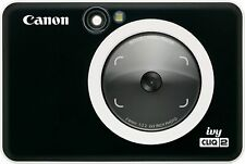 Canon - Ivy CLIQ2 Instant Film Camera - Black
