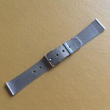 Vintage Stainless Steel Watch Bracelet/Strap. 18mm End Links.