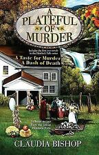 A Plateful of Murder by Claudia Bishop (2009, BCE, Hc) Cozy Mystery 2 in 1 book!