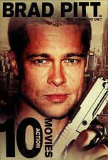 10 Action Movies Brad Pitt Bryan Cranston Sam Elliott Roy Scheider 2-Disc SEALED