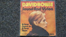 "David BOWIE-Sound and Vision 7"" single GERMANY"