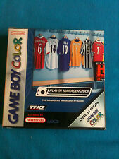 PLAYER MANAGER 2001 GAMEBOY COLOR - GBC - GBA NUOVO