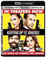 Keeping Up With the Joneses [New 4K UHD Blu-ray] 4K Mastering, Ac-3/Dolby Digi