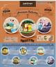 Pokemon Terrarium Collection 7 All 6 type set from Japan Re-Ment 6sets SALE
