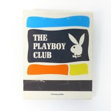 Vintage PLAYBOY Club New York Matchbook Matches Collectible Rare