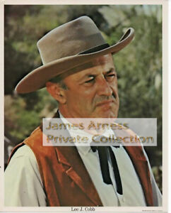 "James Arness Gunsmoke Marshal Dillon Lee J. Cobb ""The Virginian""  Photo # 16"