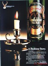 1979/80 GLENFIDDICH Pure Malt Scotch Whisky Advert #7 - Original Print AD