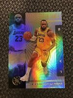 2019-20 Panini Illusions LeBRON JAMES Base Card Lakers