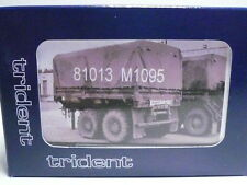 Trident US Army/NATO M1095 MTV Dual-Axle Trailer Kit 81013 1:87-SEE Photos