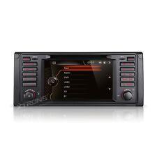 "AUTORADIO 7"" Bmw E39 E38 Navigatore Gps Comandi Volante Dvd Mp3 Usb Canbus"