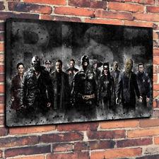 "BATMAN IL CAVALIERE OSCURO wall art stampa foto su tela A1.30""x20""30mm Deep Bane."