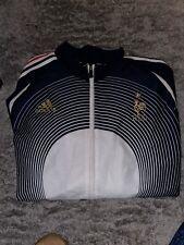 Adidas France Team FFF 2005 Football Soccer Sweatshirt Fleece Jacket Large