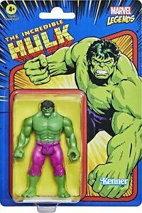 "Kenner Marvel Legends The Incredible Hulk Retro 3.75"" Figures - Hulk (Green)"