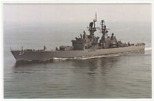 USS South Carolina CGN-37 Guided Missile Cruiser US Navy Ship postcard