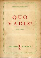 G14 Quo Vadis? Sienkiewicz Giachini ed.