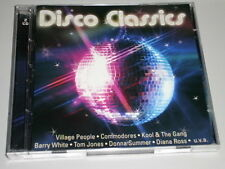 Discoteca Classics 2 CD 'S con Commodores Village People Luv Hot Chocolate Diana Ross