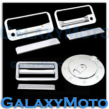 88-98 GMC C1500+C2500+C3500 Chrome 2 Door Handle+PSG KH+Tailgate+Gas Tank Cover