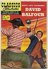 CLASSICS ILLUSTRATED #94 DAVID BALFOUR ORIGINAL