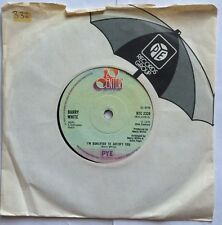 """Barry White - I'm Qualified To Satisfy You - 20th Century Records 7"""" Single VG+"""