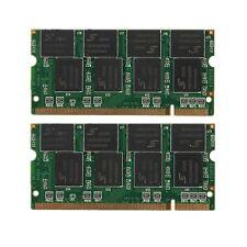 Memoria Ram 2GB(2X1GB) DDR-266 PC2100 Non-ECC (SODIMM) Laptop Memory RAM 200 pin
