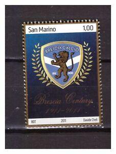 S26976) San Marino 2011 MNH Brescia Football 1v