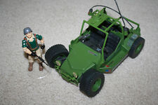 Vintage GI Joe 1985 AWE Striker w/Crankcase Figure - MC