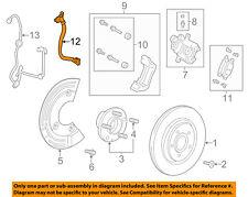 FORD OEM Rear Brake-Hydraulic Flex Hose 8A8Z2A442B