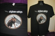 THE AFGHAN WHIGS- UNIQUE  ART PRINT T SHIRT- BLACK - LARGE