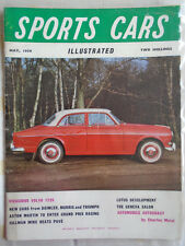 Sports Cars Illustrated May 1959 Volvo 122S, Humber Hawk Estate Car