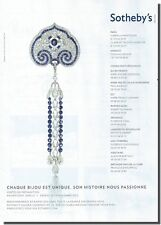 Publicité Advertising 2011 - SOTHEBY'S - (Advertising paper)