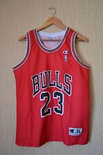 CHICAGO BULLS MICHAEL JORDAN # 23 VINTAGE  NBA CHAMPION SHIRT JERSEY