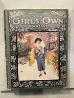 The Girl's Own Annual - Vol 45 - 1929 - Antique Book - Rare Vintage - MINT