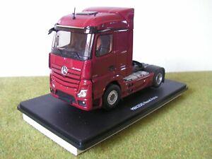 Camion ELIGOR - MERCEDES NOUVEL ACTROS STREAMSPACE ROUGE - 1/43 ème
