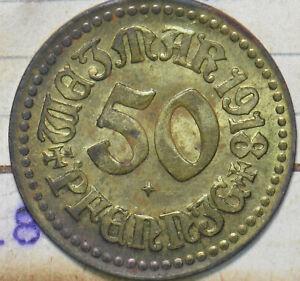 Germany 1918 50 Pfennig Weimar 293098 combine
