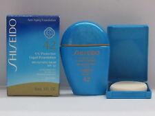 Shiseido UV Protection Liquid Foundation SP70 Dark Ivory SPF42 Water Resistant
