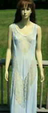 BABY BLUE LINGERIE NIGHTGOWN LONG GOWN ROYAL LARGE PLUS SIZE 1X 2X 3X 4X