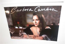 BARBARA CARRERA   /  JAMES BOND  /  NEVER SAY NEVER AGAIN  /  SIGNED IN PERSON