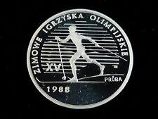 Olympia & Sport polierte Platte Münzen aus Europa