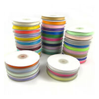 10mm GROSGRAIN RIBBON 25 METRE SPOOL *39 COLOURS* WEDDING DUMMY CRAFT GROSSGRAIN
